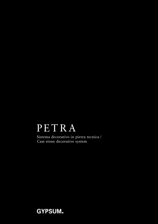Petra Catalogue 2018