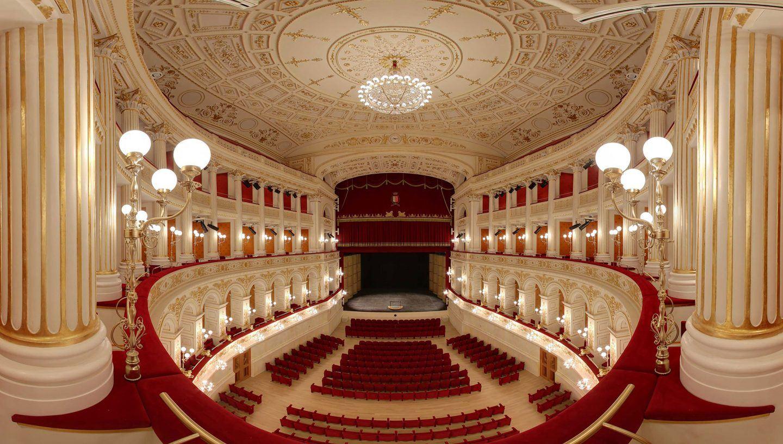 Teatro Amintore Galli | <strong>TEATRO AMINTORE GALLI</strong> | luogo <strong>Rimini, Italia</strong> | progetto <strong>Arch. Luigi Poletti</strong> | ph web