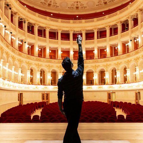 Teatro Amintore Galli | <strong>TEATRO AMINTORE GALLI</strong> | luogo <strong>Rimini, Italia</strong> | progetto <strong>Arch. Luigi Poletti</strong> | ph © <strong>Laura Ferrari</strong>