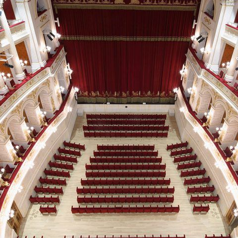 Teatro Amintore Galli | <strong>TEATRO AMINTORE GALLI</strong> | luogo <strong>Rimini, Italia</strong> | progetto <strong>Arch. Luigi Poletti</strong> | ph © <strong>CMB</strong>