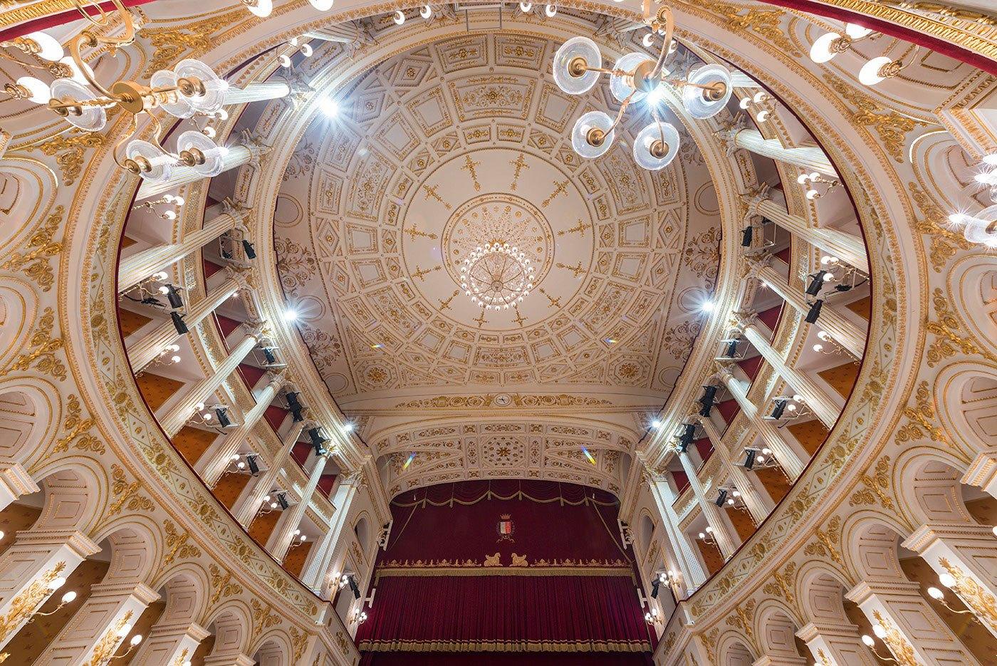 Teatro Amintore Galli | <strong>TEATRO AMINTORE GALLI</strong> | venue <strong>Rimini, Italia</strong> | project <strong>Arch. Luigi Poletti</strong> | ph © <strong>Elena Morosetti</strong>