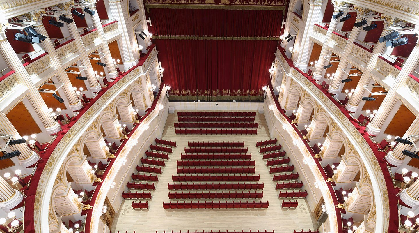 Teatro Amintore Galli | <strong>TEATRO AMINTORE GALLI</strong> | venue <strong>Rimini, Italia</strong> | project <strong>Arch. Luigi Poletti</strong> | ph © <strong>CMB</strong>